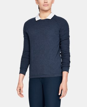 언더아머 UA Threadborne 크루 스웨터 Under Armour Womens UA Threadborne Crew Sweater