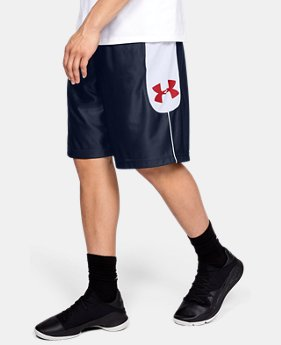 언더아머 UA Under Armour Mens UA Perimeter Shorts,Midnight Navy (1317393-410)