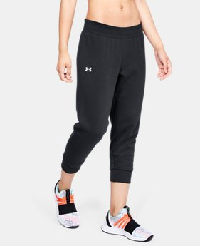 언더아머 UA Under Armour Womens UA Rival Fleece Crop