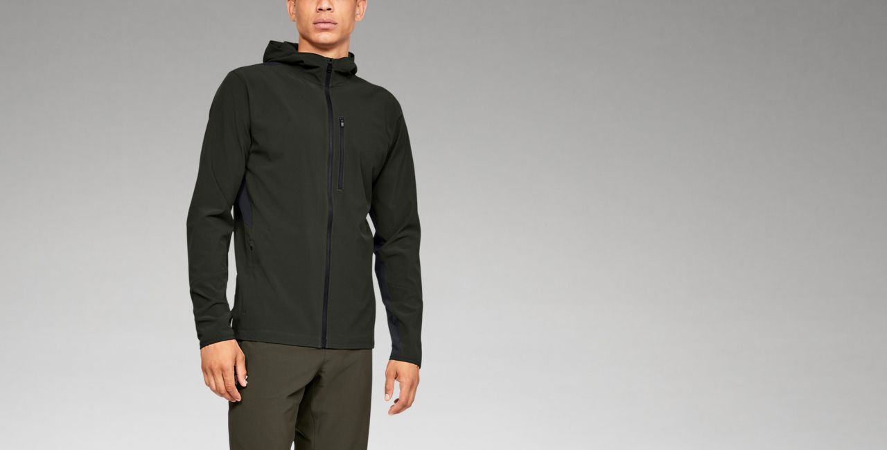 Under Armour Mens Outrun The Storm Jacket V2 Under Armour Apparel