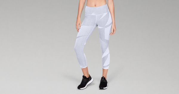 3f2a732d9f8156 Women's UA Breathelux Jacquard Crop | Under Armour US