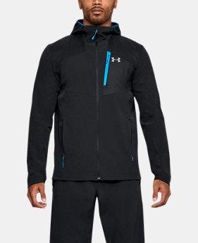 언더아머 Under Armour Mens UA Propellant Jacket,Black (1318837-001)