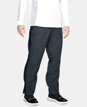 언더아머 UA Under Armour Mens UA Sportstyle Woven Pants,STEALTH GRAY (1320122-008)