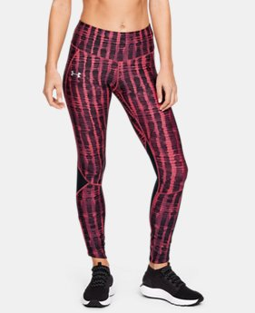 언더아머 레깅스 Under Armour Womens UA Armour Fly Fast Printed Tights