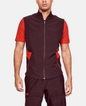 언더아머 UA UA 배니시 조끼 Under Armour Mens UA Vanish Vest,DARK MAROON (1320680-600)