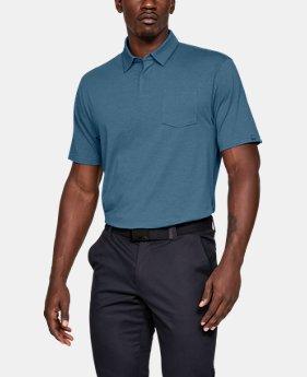 언더아머 골프웨어 폴로 반팔 티셔츠  Under Armour Mens Charged Cotton Scramble Polo