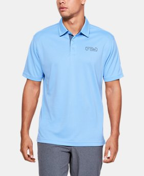 언더아머 Under Armour Mens UA Fish Tech Polo