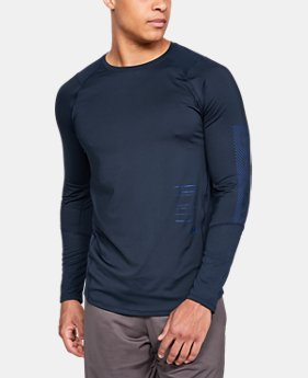 언더아머 Under Armour Mens UA MK-1 Graphic Long Sleeve Shirt