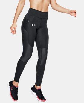 언더아머 Under Armour Womens UA SpeedPocket Run Tights,Black (1323050-001)