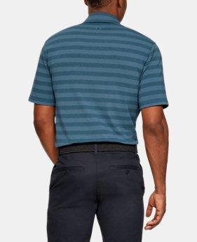 언더아머 골프웨어 스프라이프 폴로 반팔 티셔츠 Under Armour Mens Charged Cotton Scramble Stripe Polo