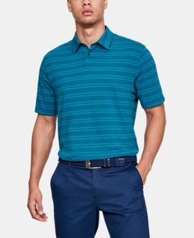 언더아머 남성 골프웨어 폴로 반팔 티셔츠 Under Armour Mens Charged Cotton Scramble Stripe Polo