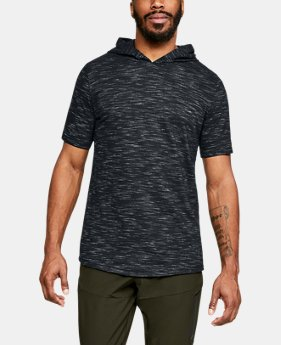 언더아머 UA Under Armour Mens UA Sportstyle Core Short Sleeve Hoodie