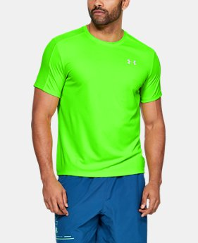 언더아머 Under Armour Mens UA Speed Stride Short Sleeve