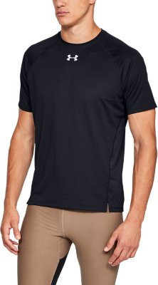 Breathable and Comfortable Mens Gym Tee Under Armour Mens Ua Qualifier Shortsleeve Short Sleeves Ultra-Light Fitness Shirt for Men