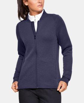 언더아머 Under Armour Womens UA Move Light Full Zip Jacket,INK (1326874-517)