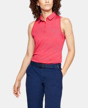 언더아머 Under Armour Womens UA Zinger Sleeveless Novelty Polo
