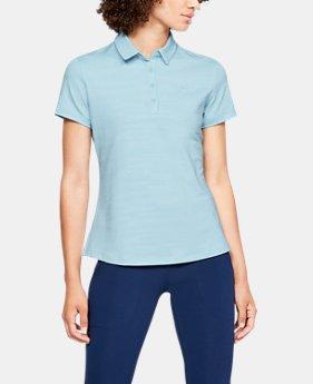 언더아머 Under Armour Womens UA Zinger Short Sleeve Novelty Polo