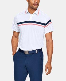 언더아머 골프웨어 배니쉬 드라이브 폴로 반팔 티셔츠 Under Armour Mens UA Vanish Drive Polo,White (1327033-100)