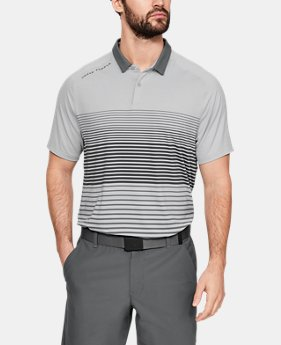 언더아머 골프웨어 파워 플레이 폴로 반팔 티셔츠 Under Armour Mens UA Iso-Chill Power Play Polo
