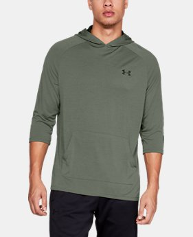 언더아머 Under Armour Mens UA Tech 2.0 ¾ Sleeve Hoodie