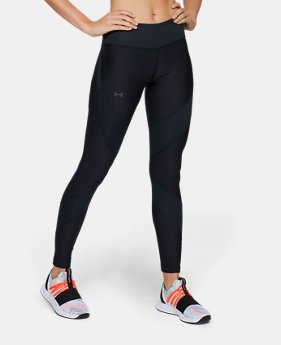 언더아머 Under Armour Womens UA Vanish Leggings,Black (1328849-001)