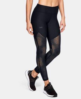 언더아머 Under Armour Womens UA Vanish Leggings Ascend Mesh,Black (1328866-001)