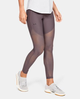 언더아머 레깅스 Under Armour Womens UA Vanish Leggings Ascend Mesh