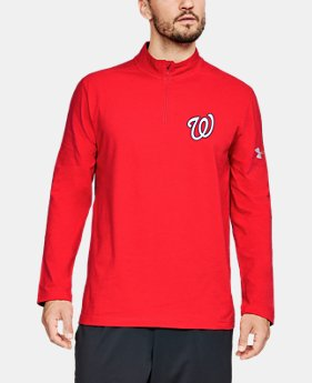 언더아머 MLB 1/4 집업 티셔츠 Under Armour Mens MLB UA Chest ¼ Zip