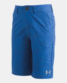 언더아머 UA 남아용 반바지 Under Armour Boys UA Static Shorts,Mediterranean (1331261-437)