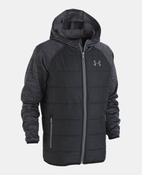 언더아머 UA 보이즈 UA 후드 자켓 Under Armour Boys UA Day Trekker Hooded Jacket