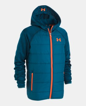 언더아머 UA 보이즈 UA 프리 스쿨 후드 자켓 Under Armour Boys Pre-School UA Day Trekker Hooded Jacket