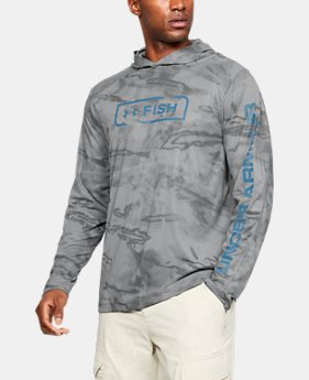 언더아머 Under Armour Mens UA Shore Break Camo Hoodie
