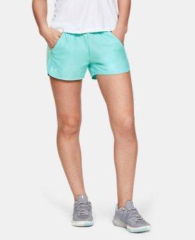 언더아머 Under Armour Womens UA Play Up Shorts Jacquard Inset