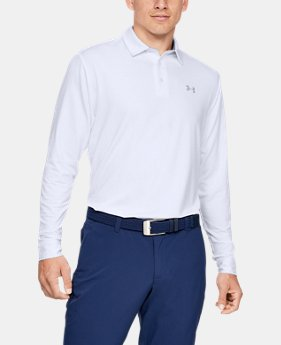 언더아머 남성 골프웨어 폴로 플레이오프 20 긴팔 티셔츠 Under Armour Mens UA Playoff 20 Long Sleeve Polo