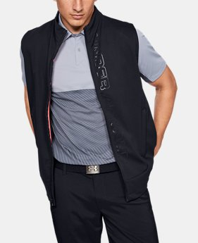 언더아머 골프 조끼 Under Armour Mens UA Storm Vest