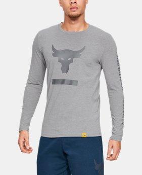 [언더아머 프로젝트 락 컬렉션] 하디스트 워커 티셔츠 Under Armour Mens Project Rock Hardest Worker Long Sleeve Shirt