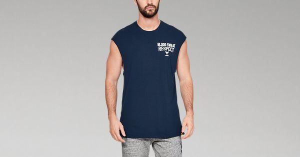 eea2142459 Men's Project Rock B.S.R. Cut-Off T-Shirt | Under Armour US
