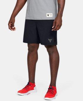 [언더아머 프로젝트 락 컬렉션] 트레이닝 반바지 Under Armour Mens Project Rock Training Shorts,Black (1346070-001)