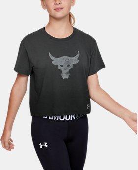 [언더아머 프로젝트 락 컬렉션] 걸즈 티셔츠  Under Armour Girls Project Rock Graphic T-Shirt