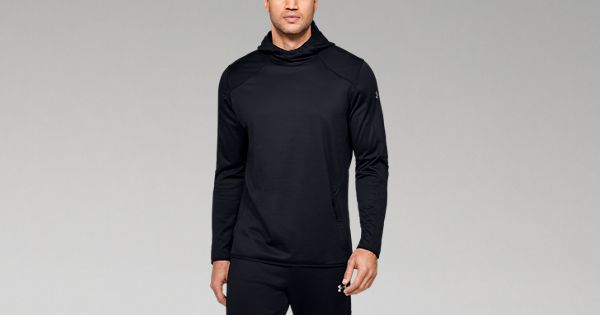 Under Armour Mens Performance Hoodie Athletic Pullover 1350947