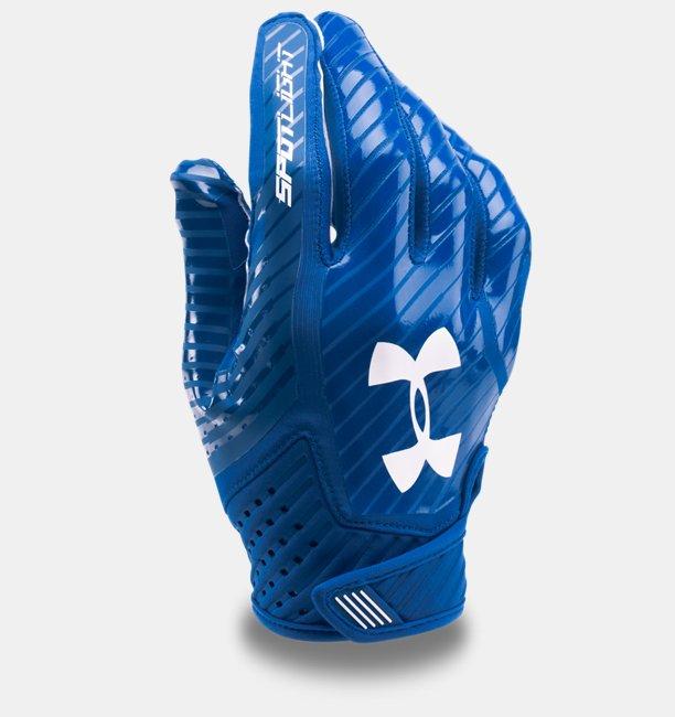 gants de football am ricain ua spotlight pour homme under armour fr. Black Bedroom Furniture Sets. Home Design Ideas