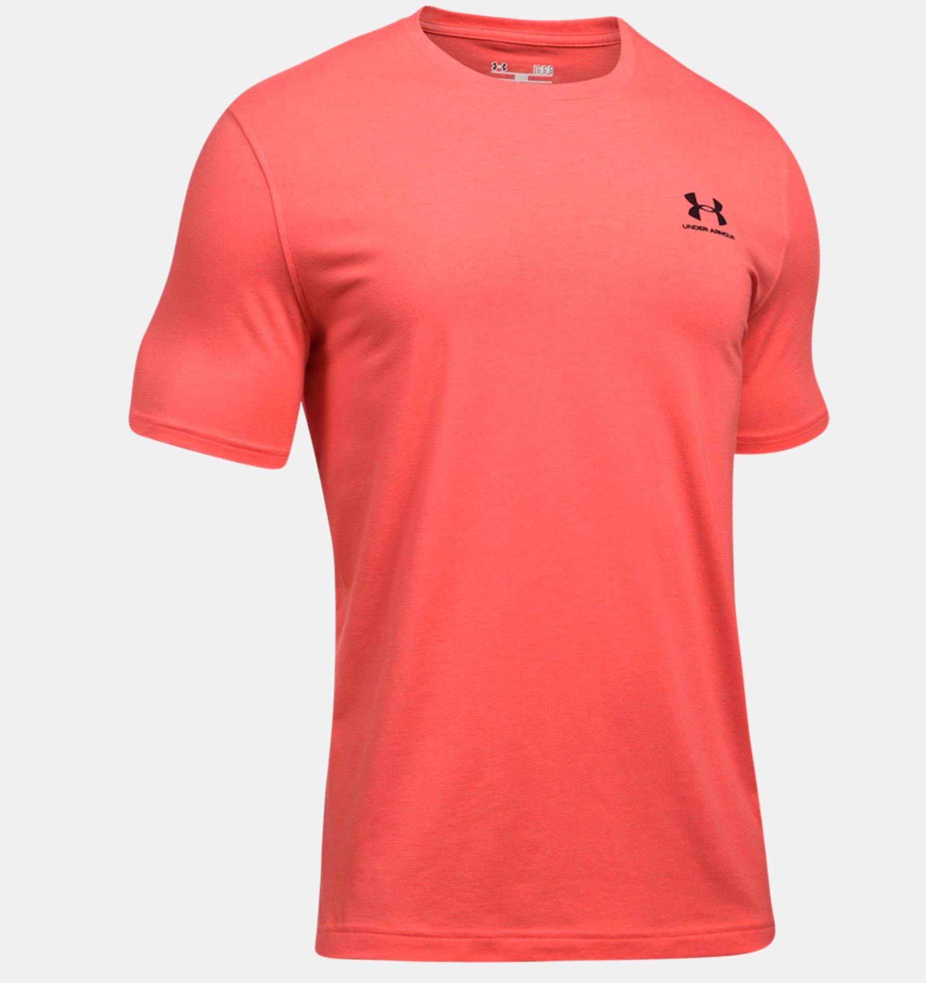 Under Armour - Camiseta UA Sportstyle con logotipo a la izquierda del pecho para  hombre - f025838c6145f