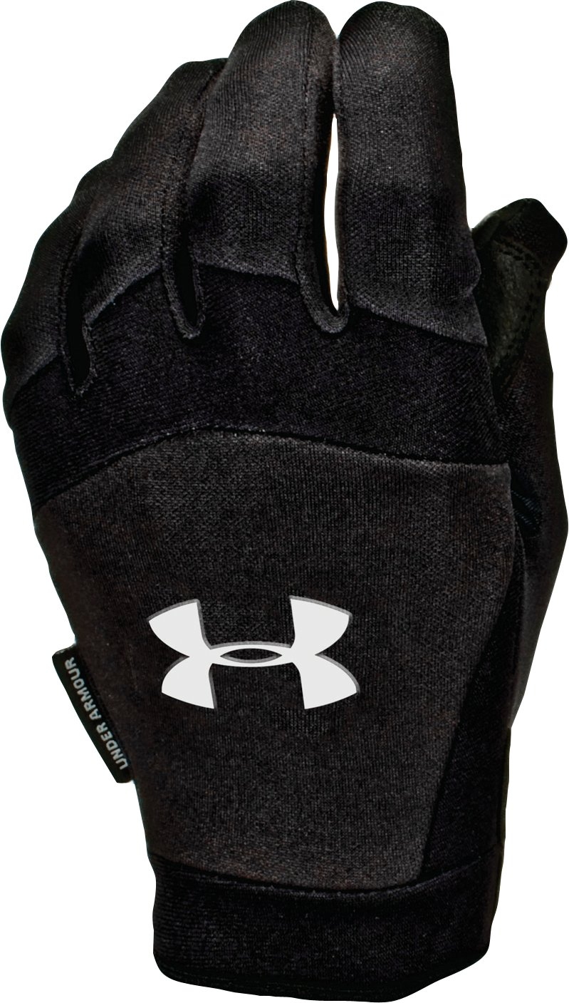 Men's ColdGear® Team Sideline Gloves, Black , zoomed image