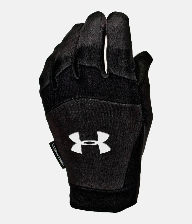 Mens gloves extra large - Men S Coldgear Team Sideline Gloves Black Zoomed Image