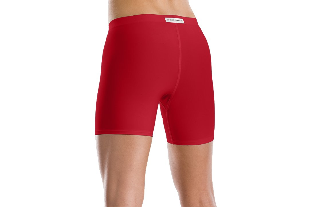 "Women's Ultra 4"" Compression Short, Red"