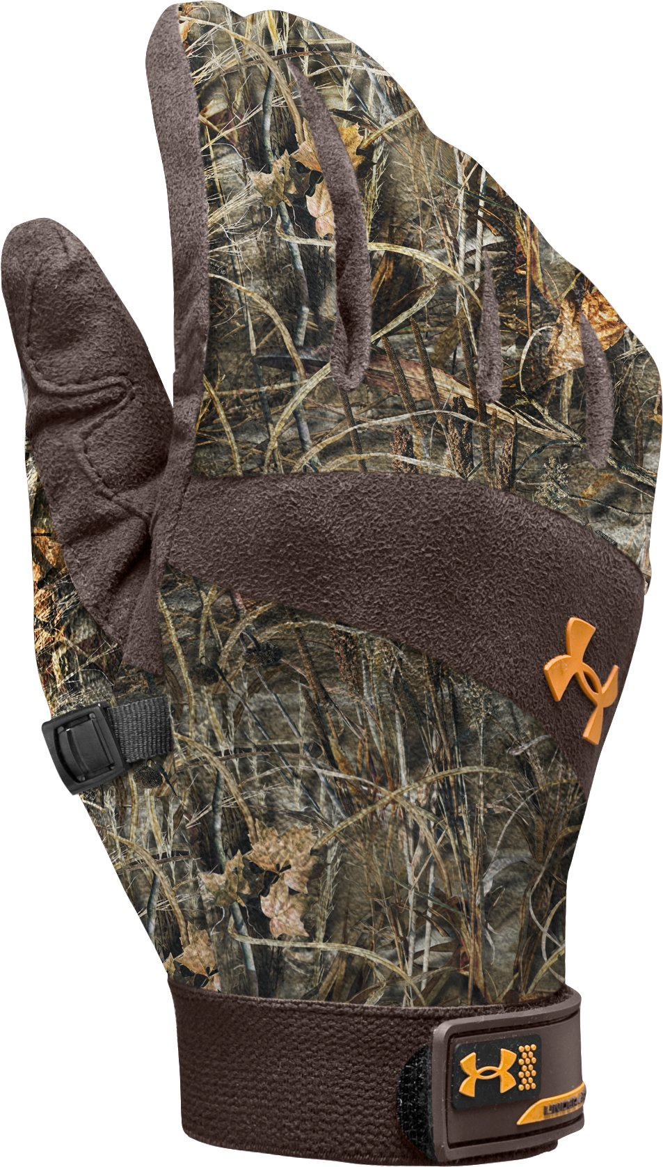 Men's Camo Idylwild Gloves, Realtree Max, zoomed image
