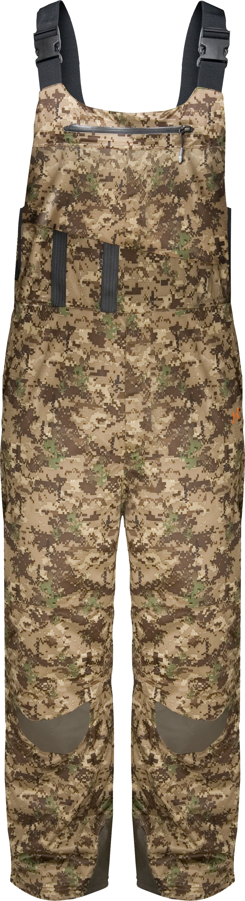 Men's ArmourStealth™ Camo Extreme Cold Bib, UA Digital, zoomed image