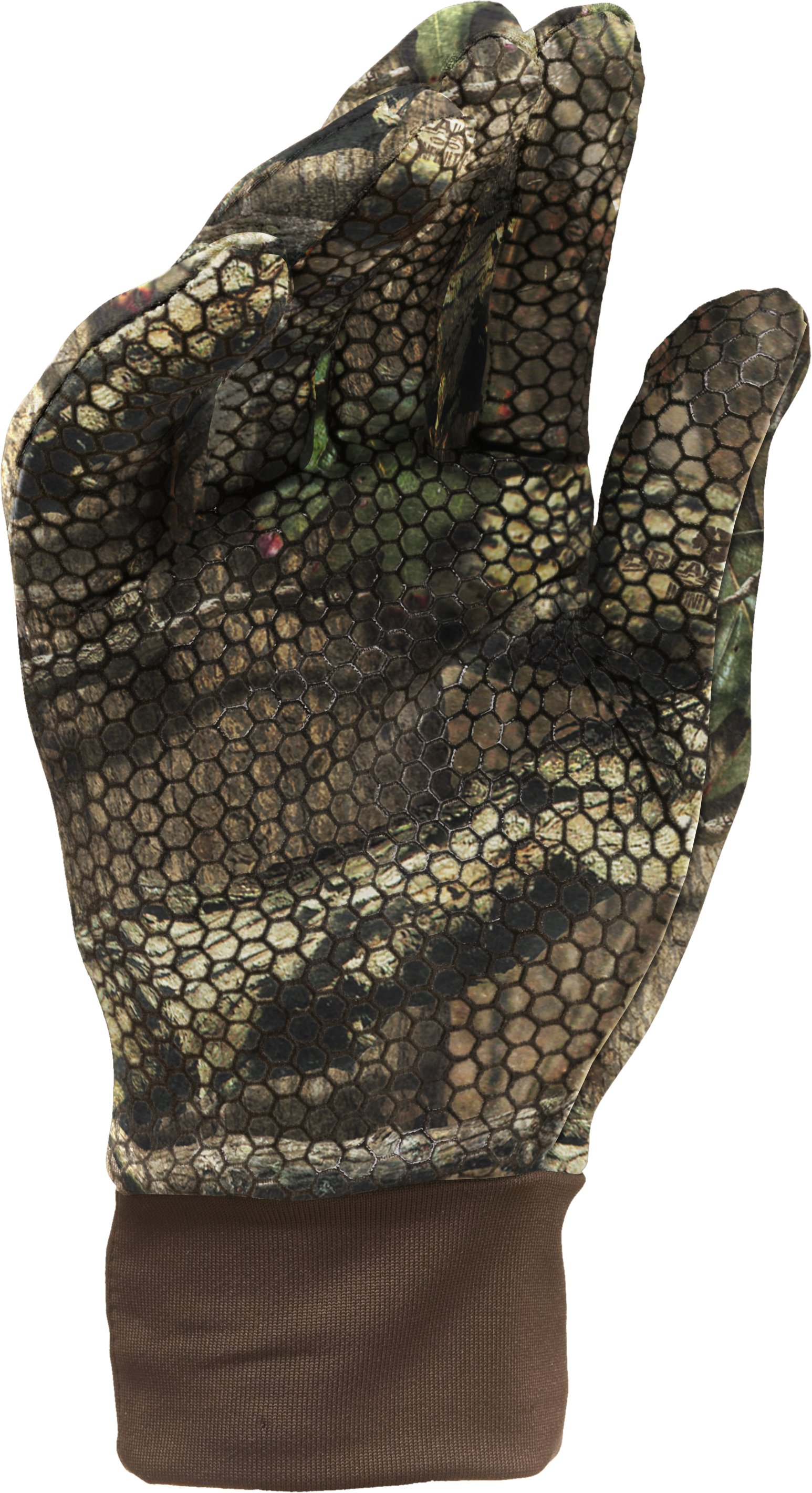 Men's Hurlock Camo Hunting Gloves, Mossy Oak Break-Up Infinity, zoomed image