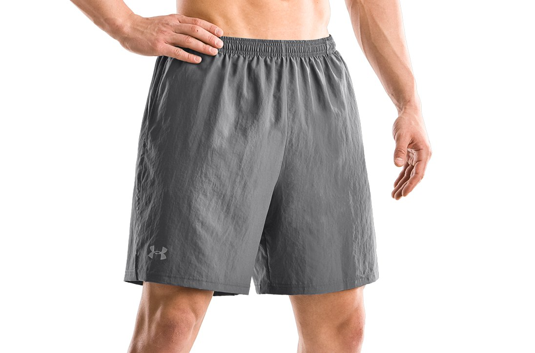 "Men's 7"" Escape II Shorts, Graphite, zoomed image"