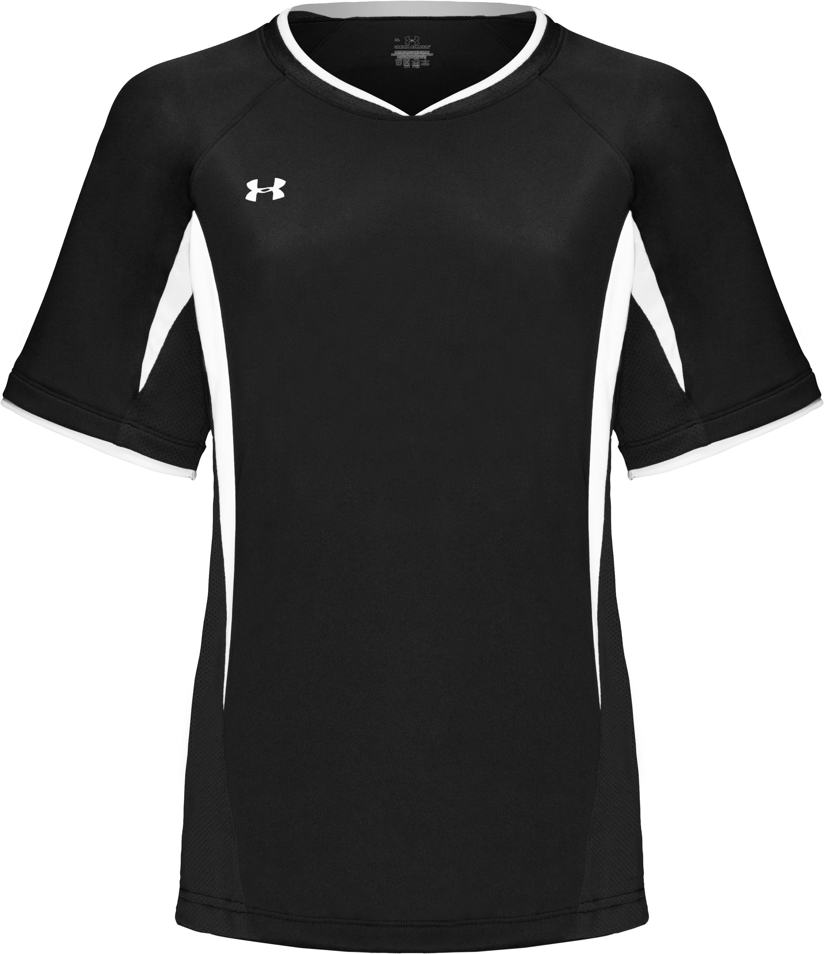 Youth Short Sleeve UA Stealth Jersey, Black